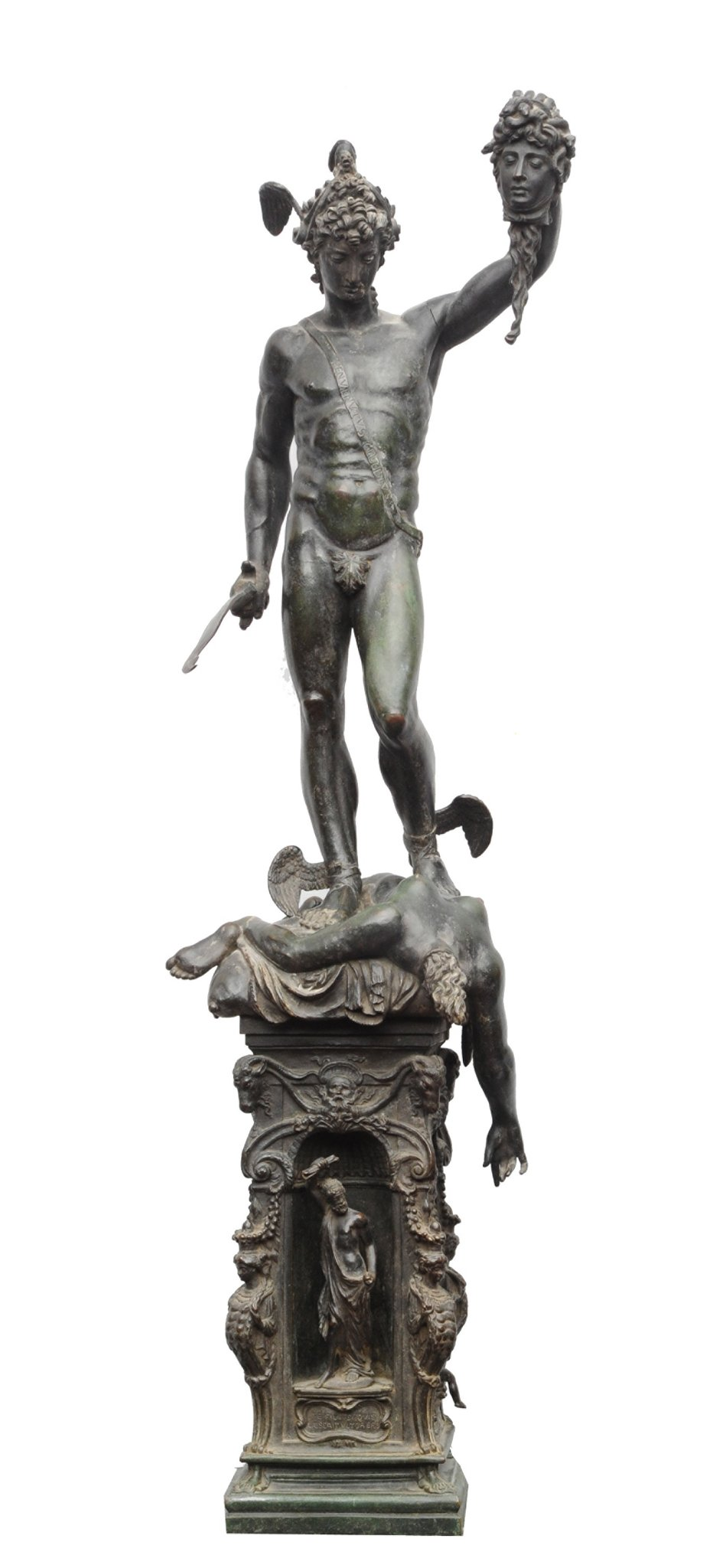 Head Of Medusa After Benvenuto Cellini Perseus